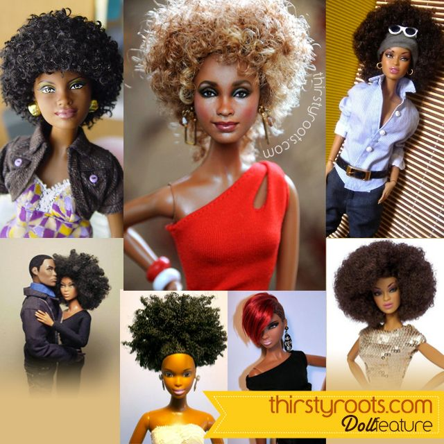 Thirsty Roots Black Barbie Dolls Feature American Girl Doll Hairstyles Natural Hair Styles Hair Styles