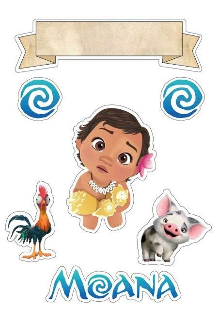 Pin By Yajaira Gil On Moldes In 2020 Moana Theme Birthday Moana Theme Moana Birthday