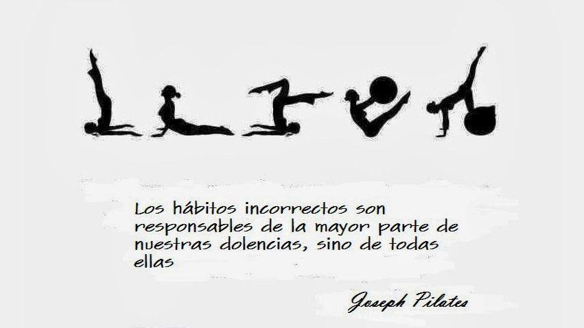 Muitas vezes Los hábitos incorrectos | pilates | Pinterest | Pilates y Frases YG11