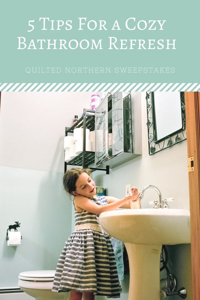 5 tips for a cozy bathroom refresh sweepstakes cozy on fast and easy ways to refresh your home on a budget id=65179