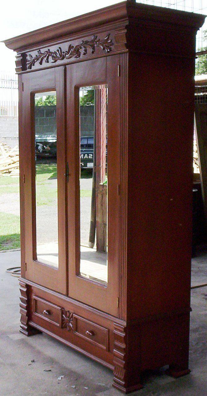 Armario buscar con google muebles pinterest Muebles de dormitorio antiguos