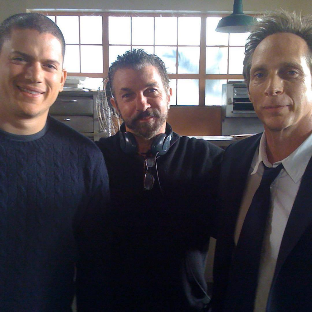 Wentworth Miller, Bobby Roth & William Fichtner