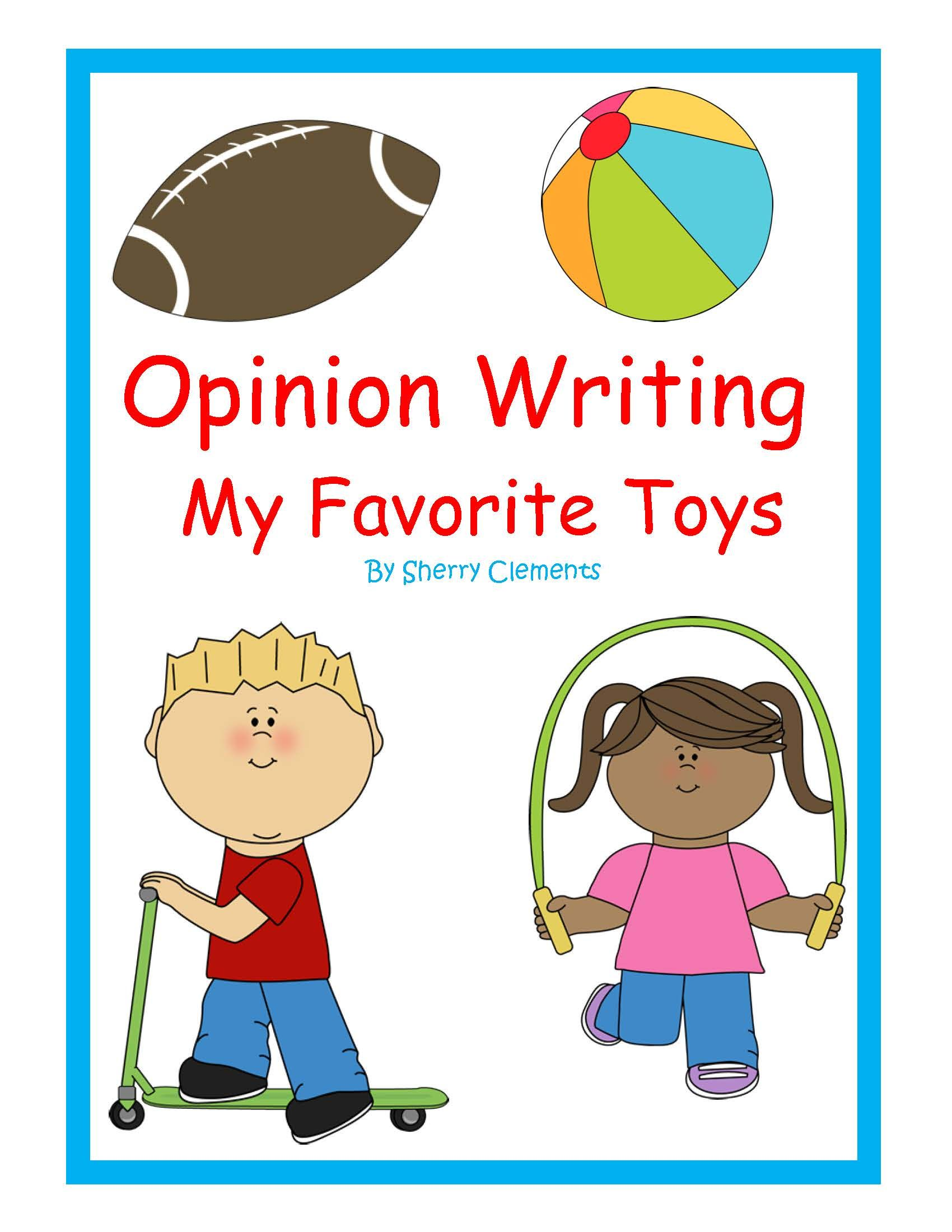 Toys images clip art  Toys  Opinion Writing Favorite Toys  Kindergarten writing
