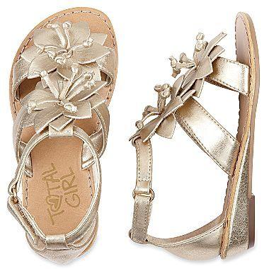 Aubrey Toddler Girls Sandals