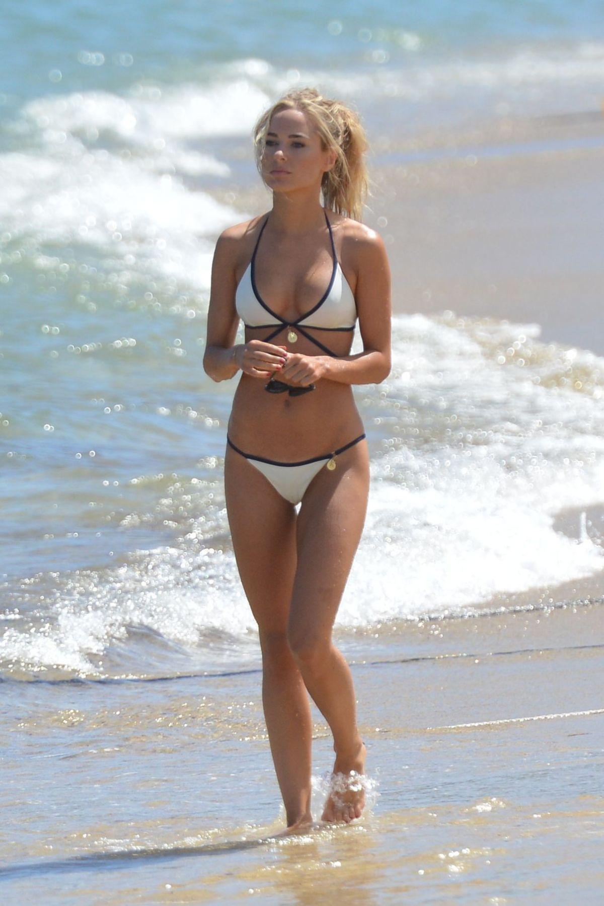 e6389d6f75735 KIMBERLEY GARNER in Bikini at a Beach in St. Tropez