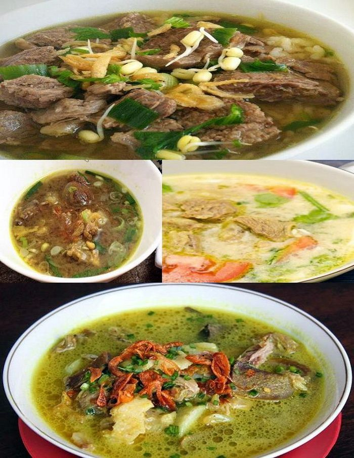6 Aneka Resep Soto Daging Bening Dan Soto Santan Khas Indonesia Lengkap Dengan Cara Membuat Resep Bumbu Soto Daging Sapi Spesial Madura Boyolali Makasar Dan