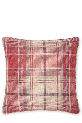 Small Morcott Woven Check Cushion   Lounge in 2019 ...