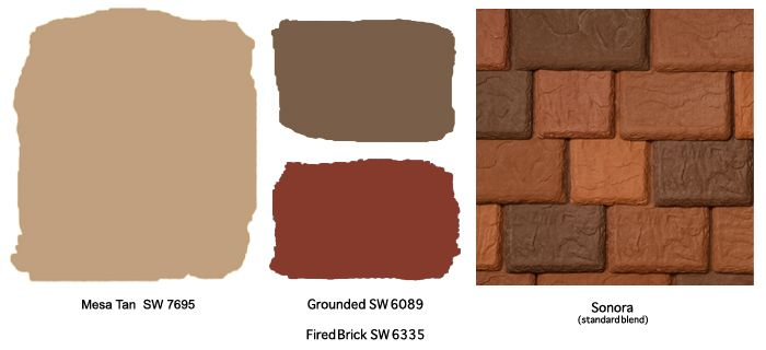 Stucco Exterior Home Color Schemes Terra Cotta Roof Exterior Colors For Southwest Style