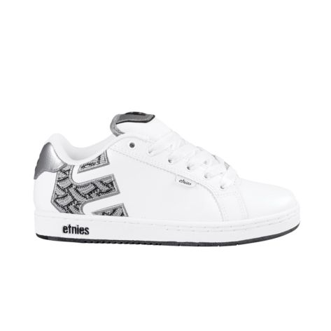 Shop for Womens etnies Fader Skate Shoe in White Silver Black at Journeys  Shoes. Shop today for the hottest brands in mens shoes and womens shoes at  ...