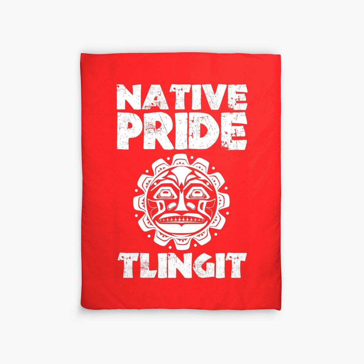 """NATIVE PRIDE TLINGIT 2"" Duvet Covers by IMPACTEES 