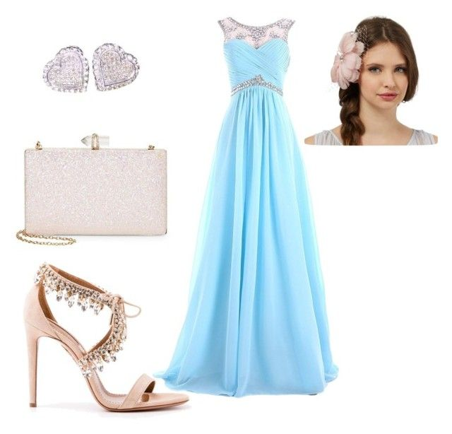 """Prom"" by nadia-n-pow on Polyvore featuring Sasha and Aquazzura"