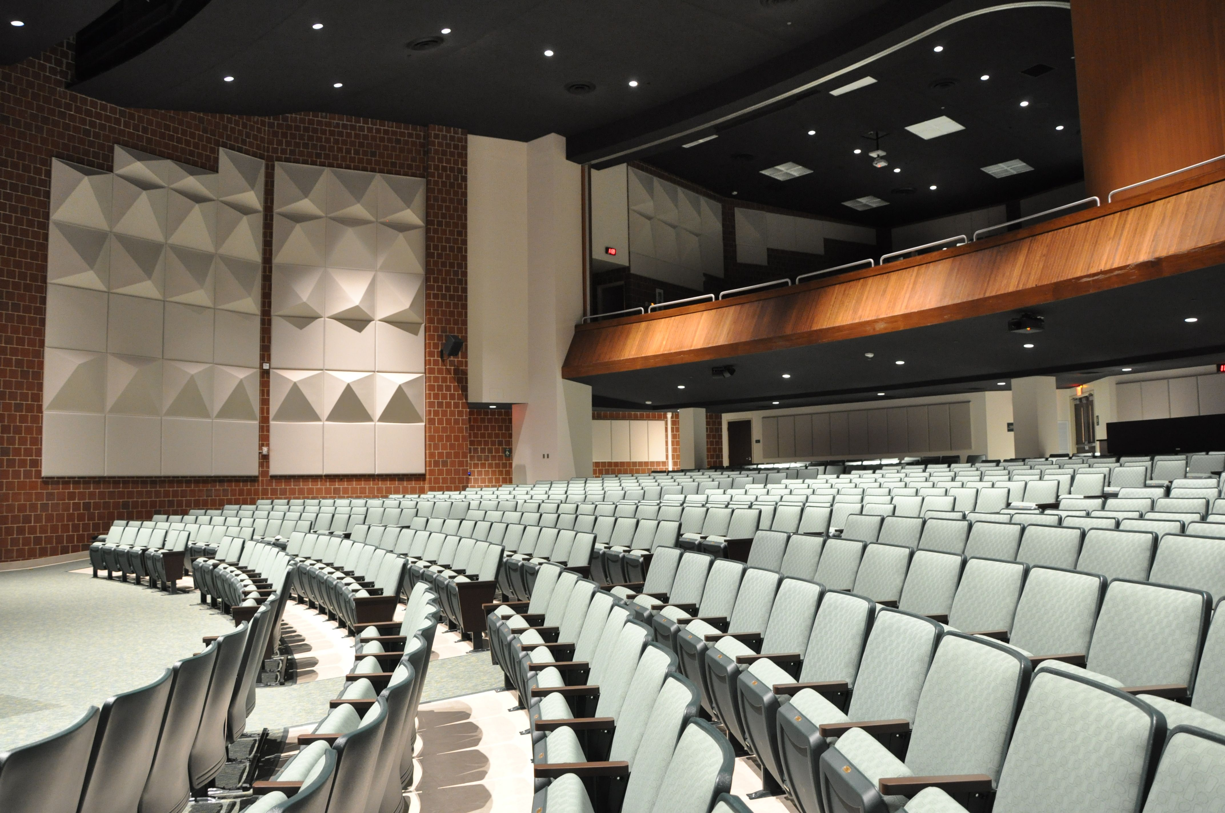 Deer lakes high school auditorium leed gold leed and - Interior design school nashville ...