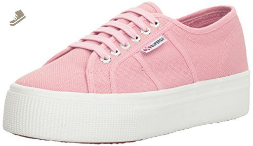 75bfea8dd306b Superga Women's 2790 Acotw Fashion Sneaker, Light Pink, 37 EU/6.5 M ...