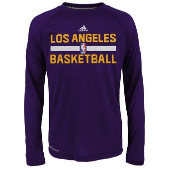 This but for Houston rockets. adidas Los Angeles Lakers Purple On-Court  Climalite Ultimate Long Sleeve T-Shirt  lakers  nba  basketball 3d519885c