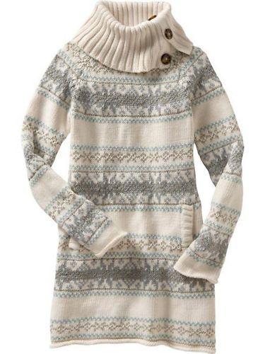 55f3aaa195e Gap Kids Arctic Star sweater dress