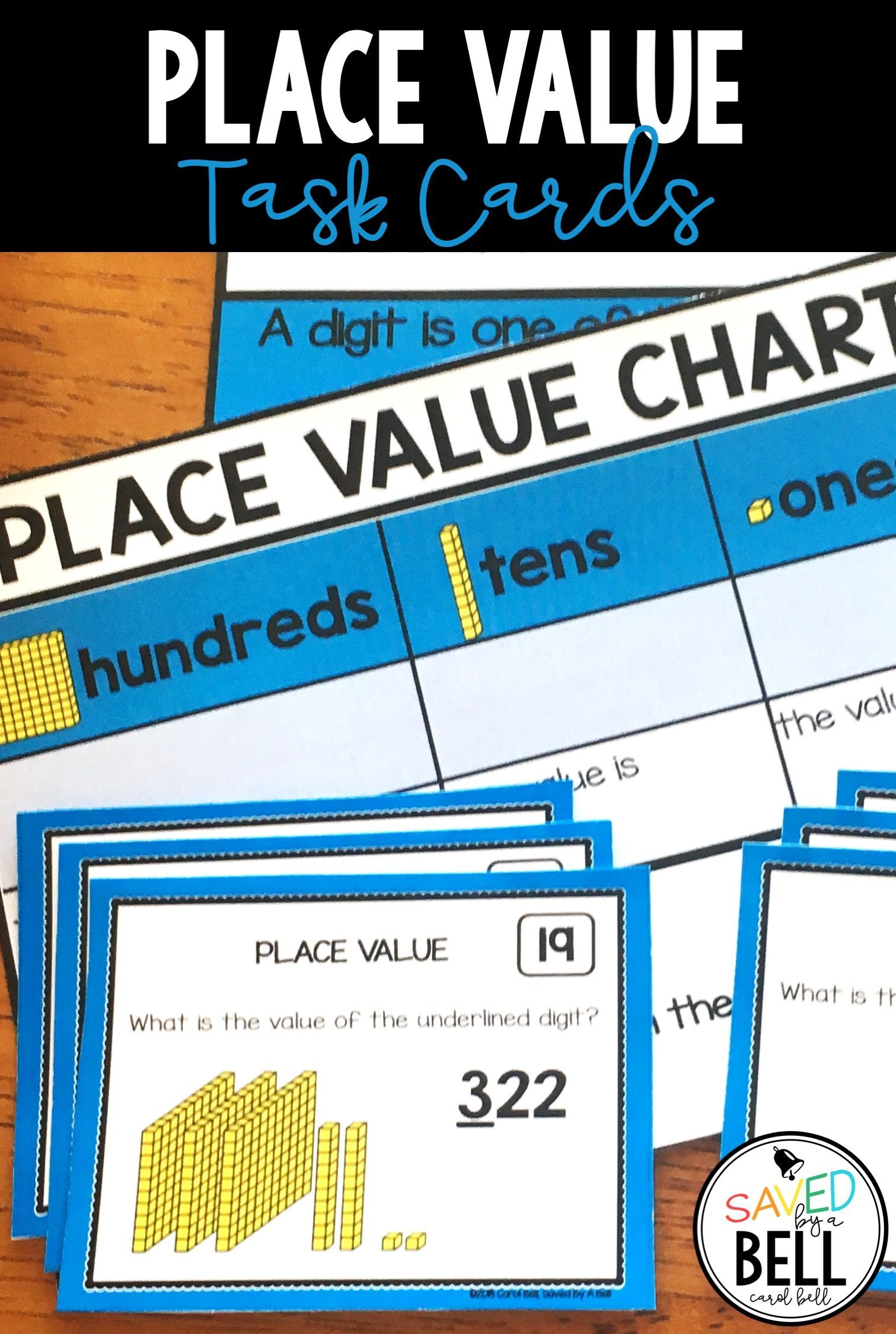 Place Value Task Cards Value Of A Digit
