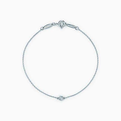 Elsa Peretti Diamonds by the Yard bracelet in sterling silver