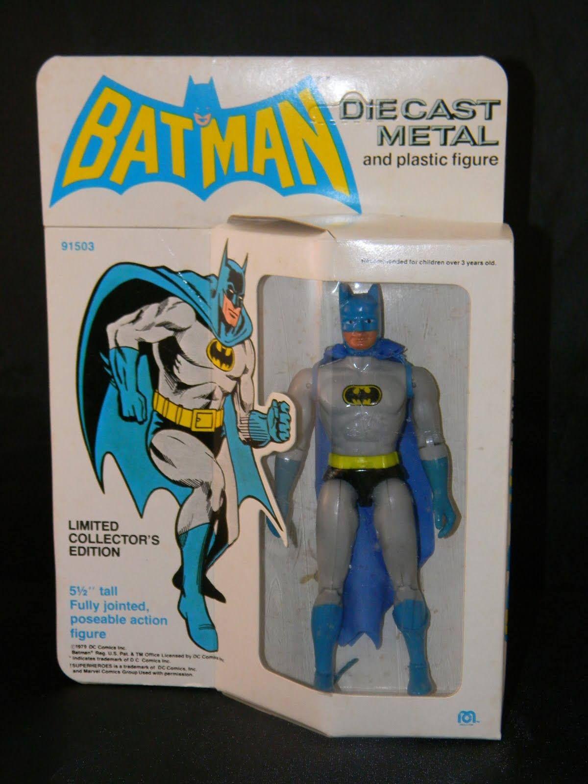 1979 Batman Die Cast Metal and plastic figure by Mego