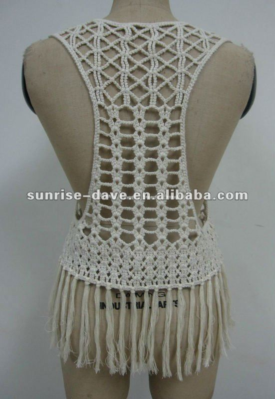macrame vests macrame and crochet vest buy macrame and crochet vest 4360