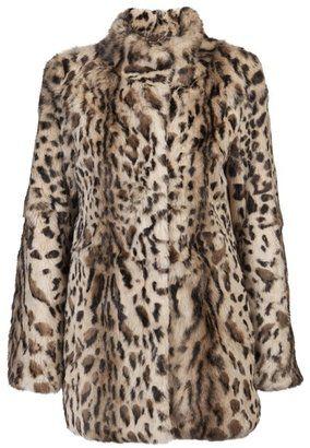 e398e14238 ShopStyle: FUNKTIONAL Leopard print fur coat   WILDERNESS STYLE ...