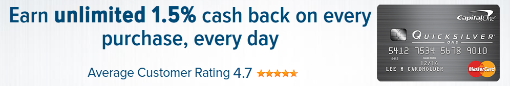 Earn Unlimited 1 5 Cash Back On Every Purchase Every Day And No Rotating Categories Or Capital One Credit Card Cash Rewards Credit Cards Rewards Credit Cards