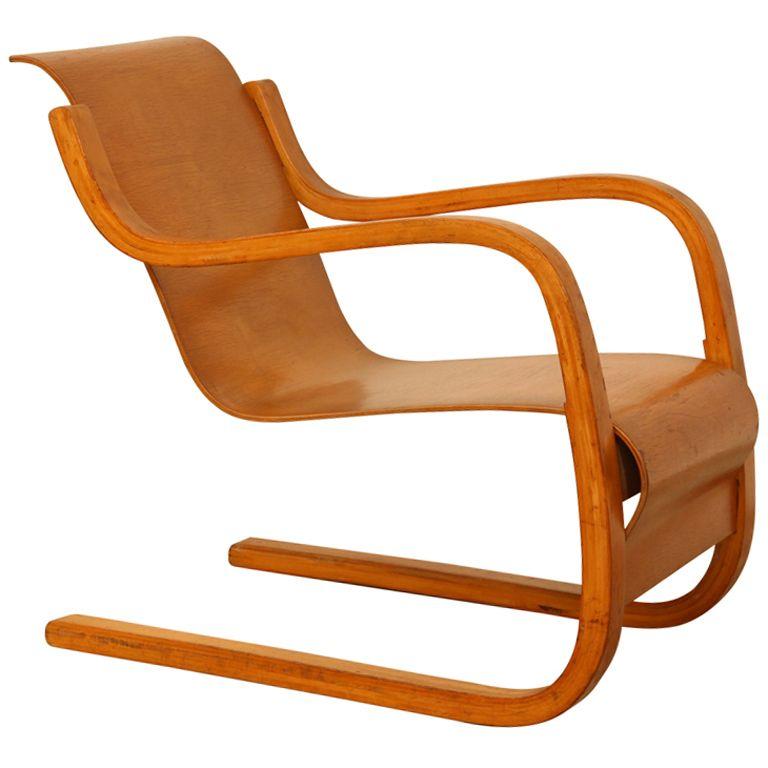Alvar aalto lounge chair alvar aalto modern table for Aalto chaise lounge