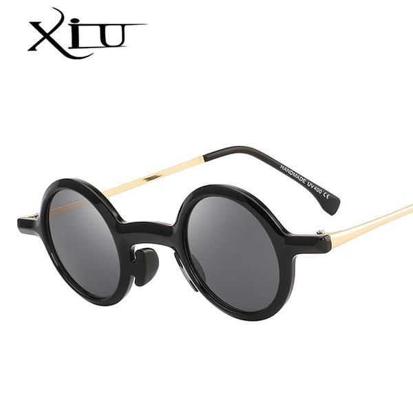 9e55308fa40d XIU Classic Lennon Round Sunglasses Men Women Round Vintage Glasses OEM  UV400 #Discounts #BestPrice