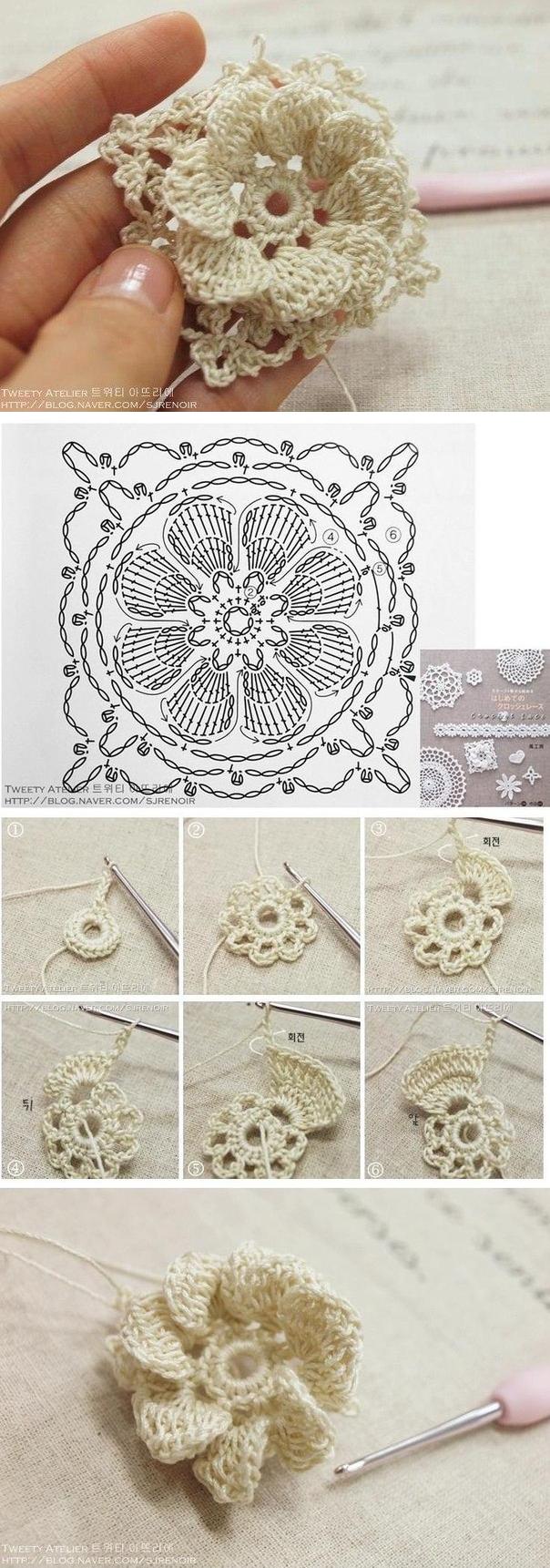 Sin encabezamiento // VALENTINA CERGUTSA | crochet puntillas ...
