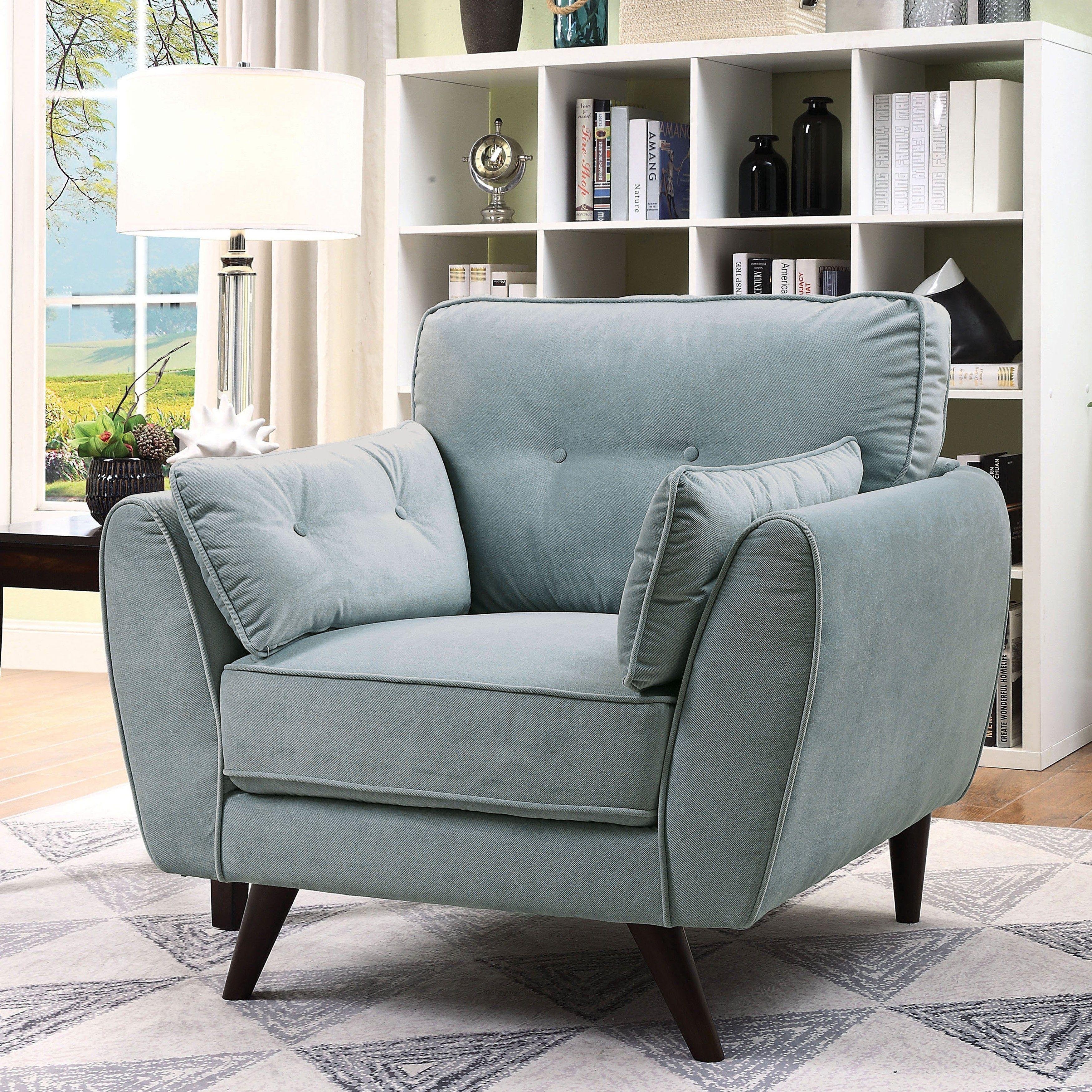 Best Furniture Of America Ahn Mid Century Modern Light Teal 400 x 300