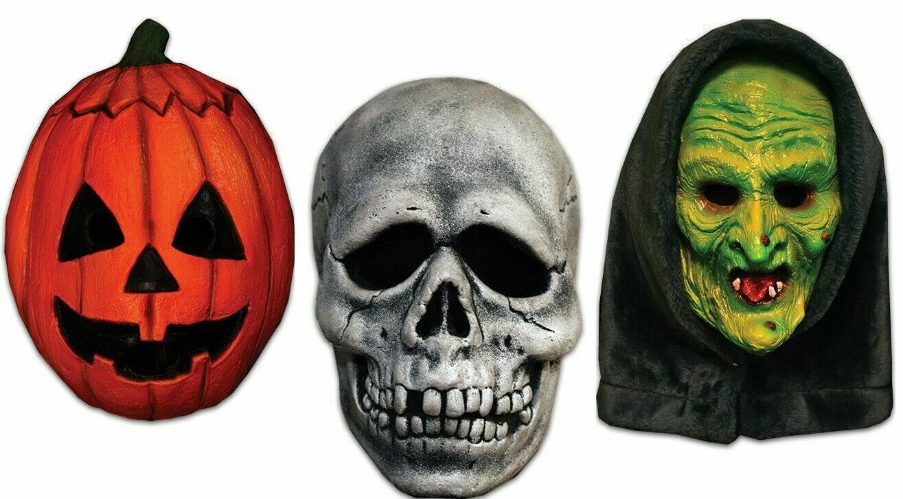 Authentic Halloween III Season of the Witch Masks