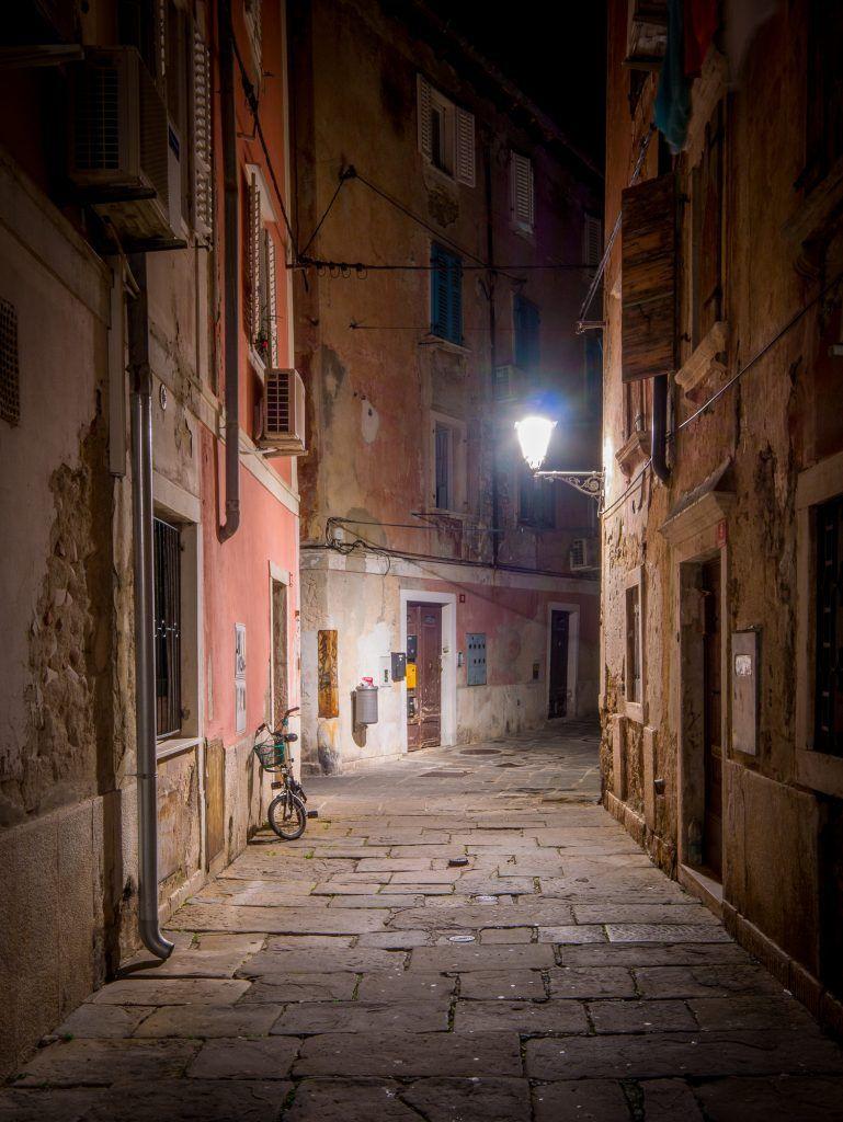 Piran, Slovenia and the joy of wandering - Explore Your Worlds   Night  scenery, Street photo, Sunrise sunset