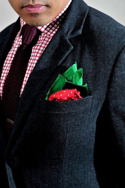 8b0a6b8acc581 Strawberry pocket square #fun #style #pocketsquare | Make a ...
