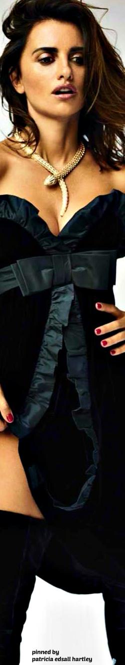 Penelope Cruz In Sexy Lingerie For Vogue December 2016