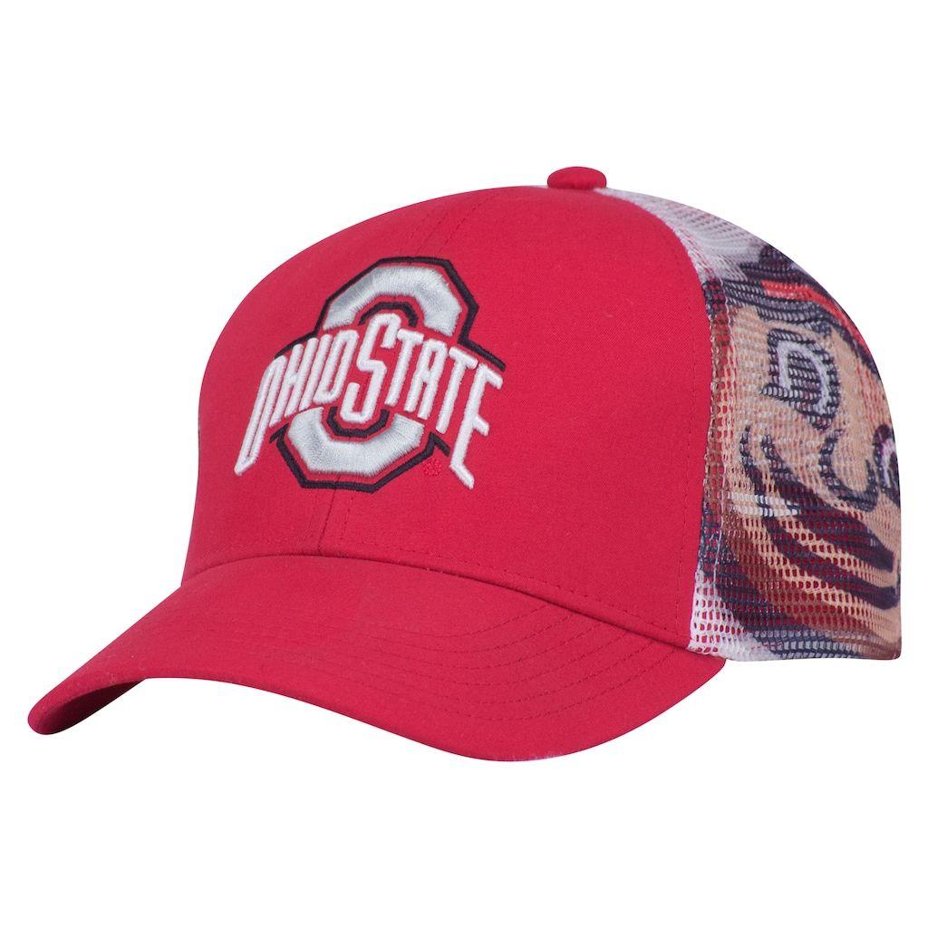 Youth Ohio State Buckeyes Mascot Snapback Cap #ohiostatebuckeyes