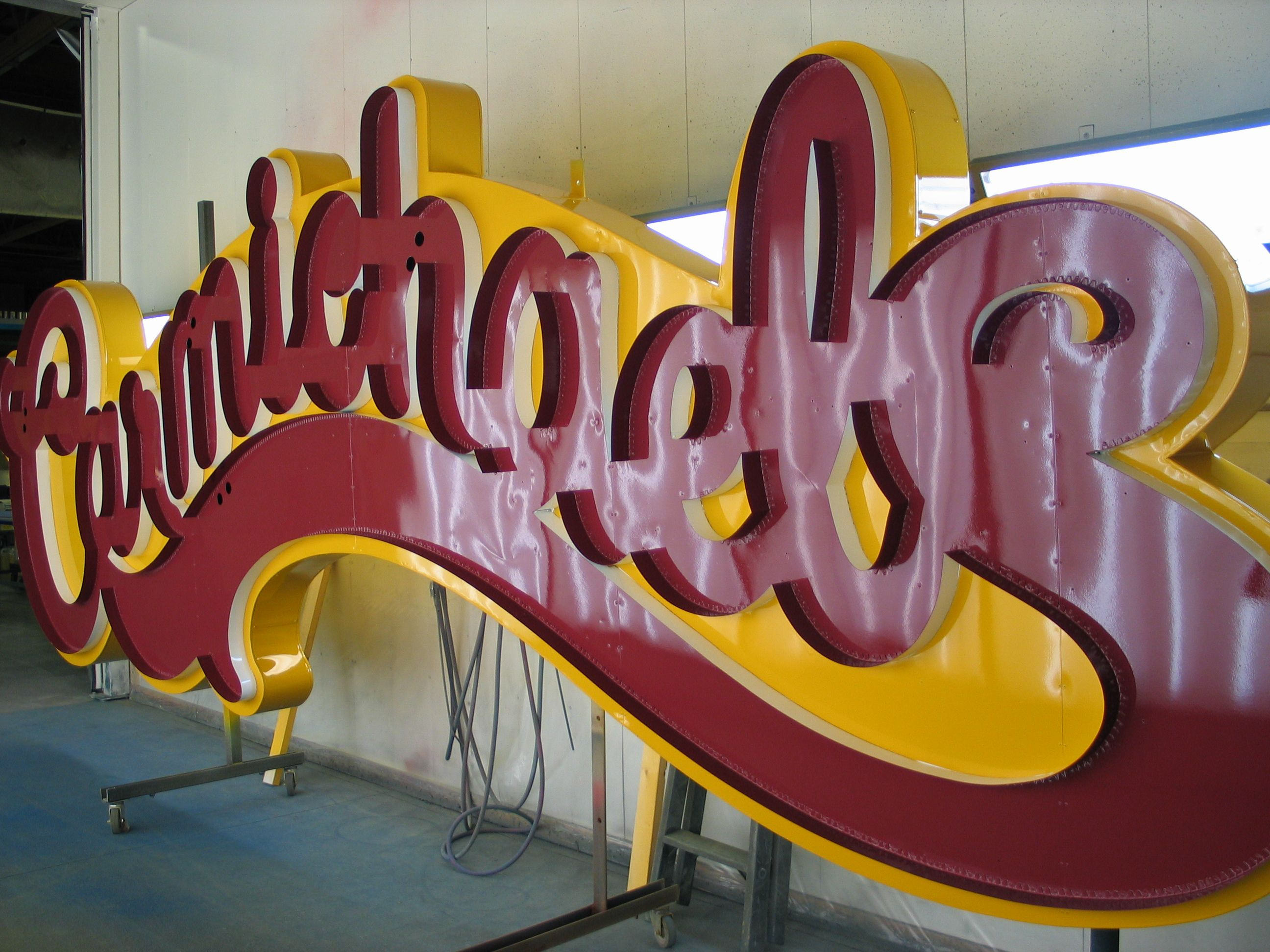 Carmichaels in Lethbridge, AB. Custom formed Neon Display. | All in ...