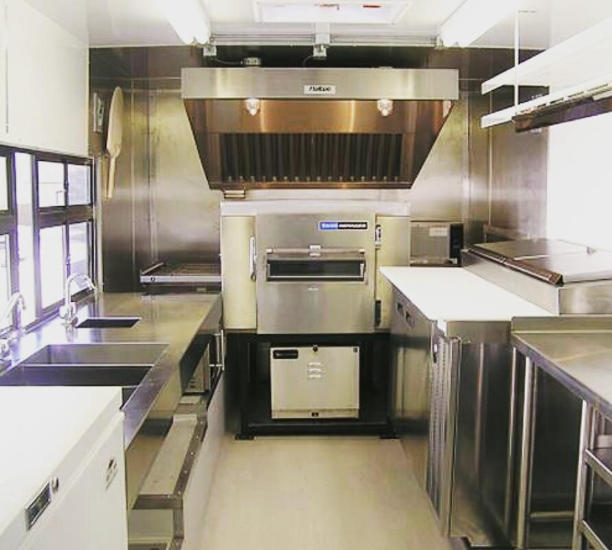 Fully Equipped Commercial Kitchen On Wheels Industryfoodcaravans