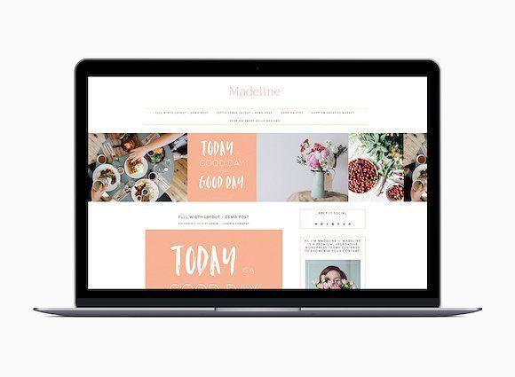 Great Responsive Wordpress Theme CreativeWork Fonts Graphics - Great wordpress templates