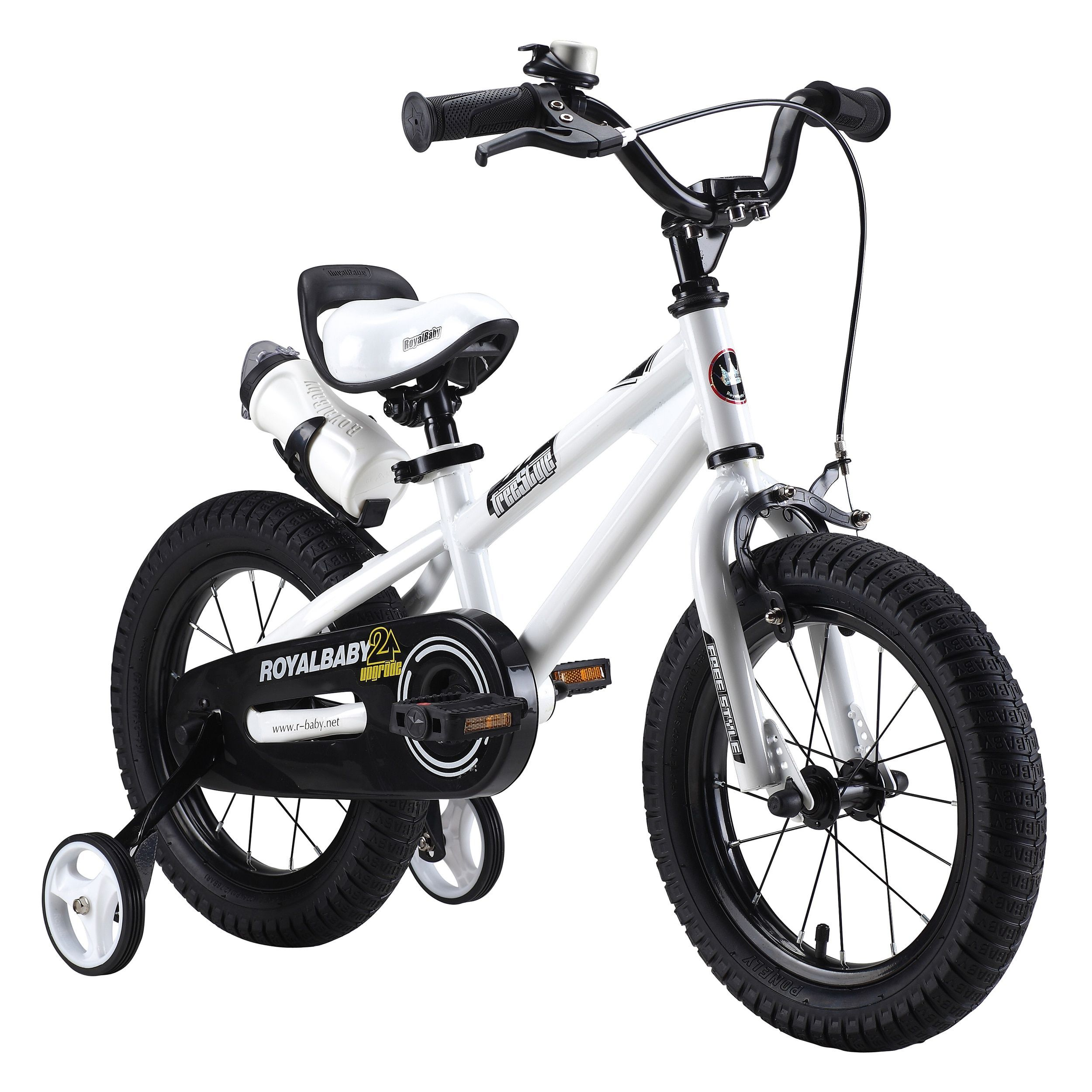 Royalbaby Kids Steel Plastic 16 Inch Bmx Freestyle Bike With