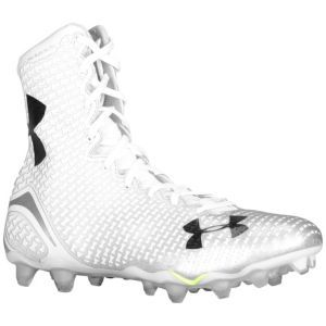 white under armour football cleats