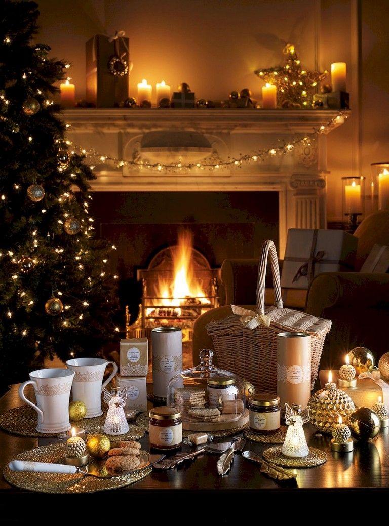 beautiful christmas living room
