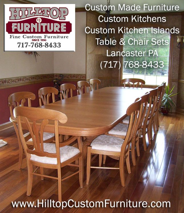 Hilltop Custom Kitchen Furniture Custom Kitchen Island Custom Kitchens