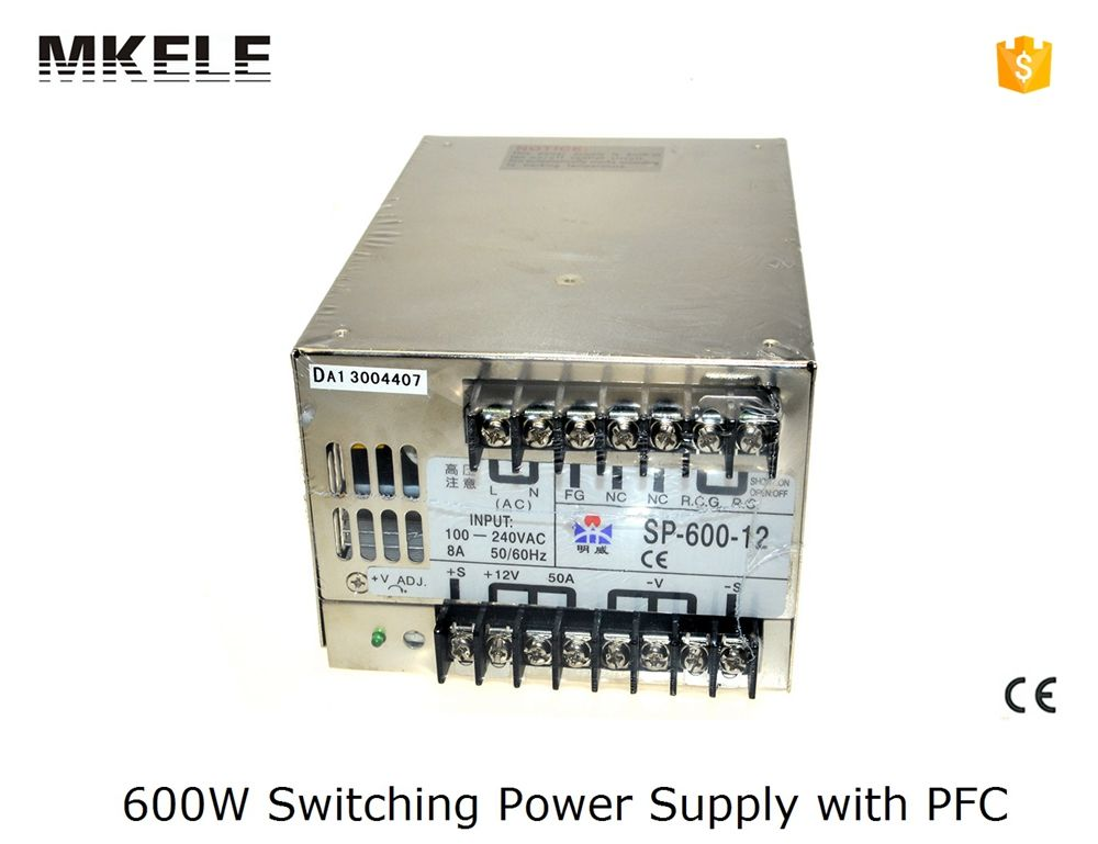 600w smps SP series multi terminals 600w 48v dc switching power ...