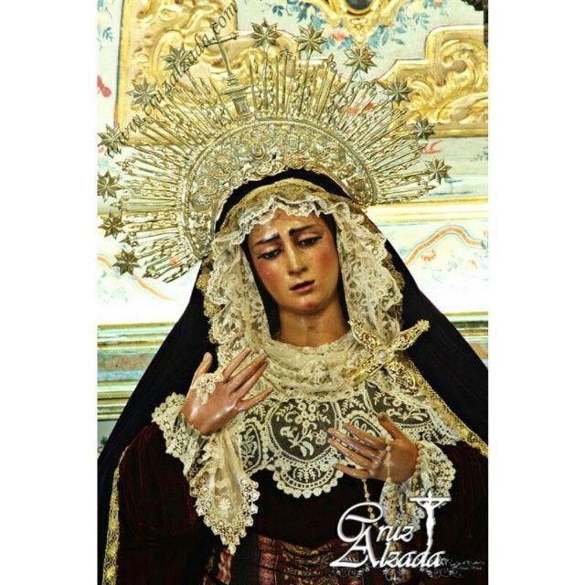 Virgen de las Angustias. CruzAlzada - Fotografía Álvaro #sevilla #españa #virgendelasangustias #virgendelosgitanos