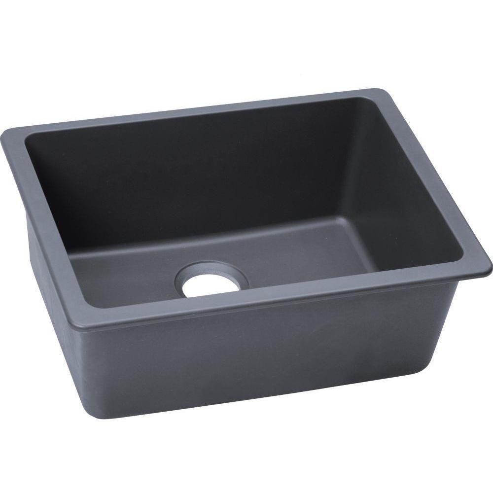 E Granite Kitchen Sinks Elkay Gourmet E Granite Undermount Granite Kitchen Sink By Elkay