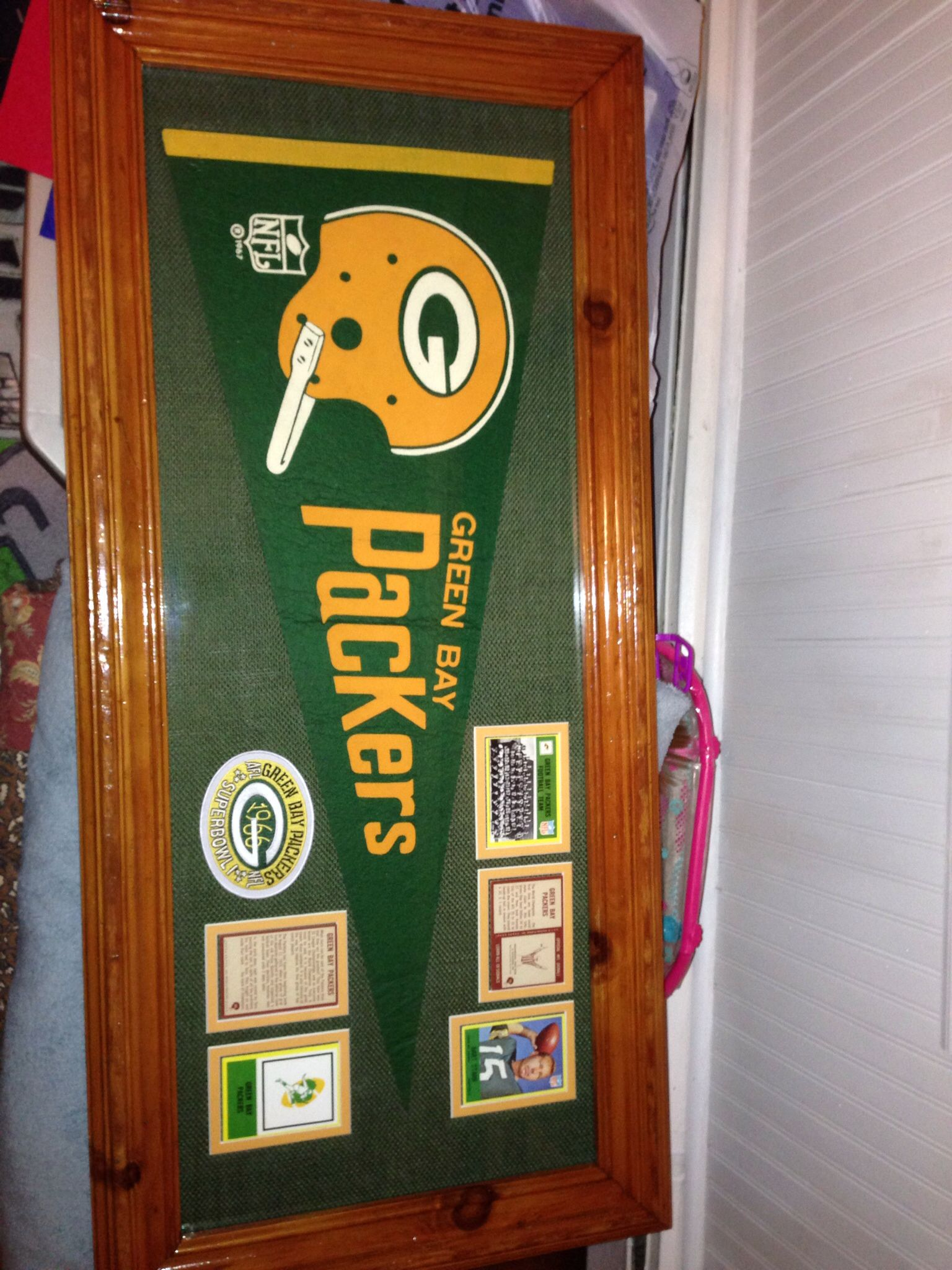 1967 Green Bay Packers Pennant World Champions Green Bay Packers Nfl Packers Packers