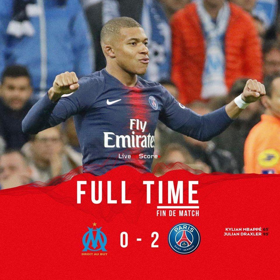 Marseille 02 Paris Saint Germain Full Highlight Video
