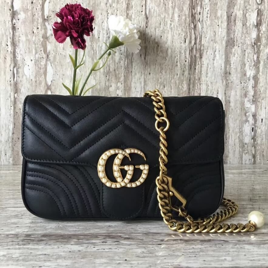 Gucci gg marmont chain belt bag 100 authentic 80 off