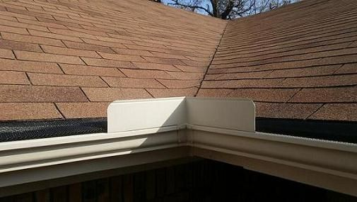 Gutter Splash Guards In 2019 How To Install Gutters