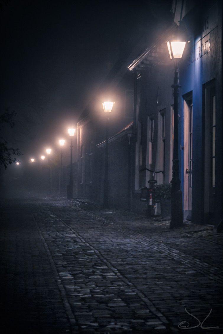 Foggy Night Photography Blackandwhite Night Fog Night Aesthetic Conceptual Photo Night Photos