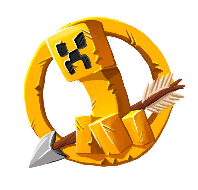 Mcgamernet Welcome Hunger Games Logo Minecraft Survival Games